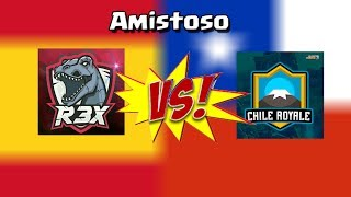 R3x vs Chile Royale - Amistoso