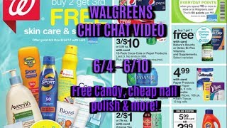 Walgreens Chit Chat Ad Video:  6/4-6/10