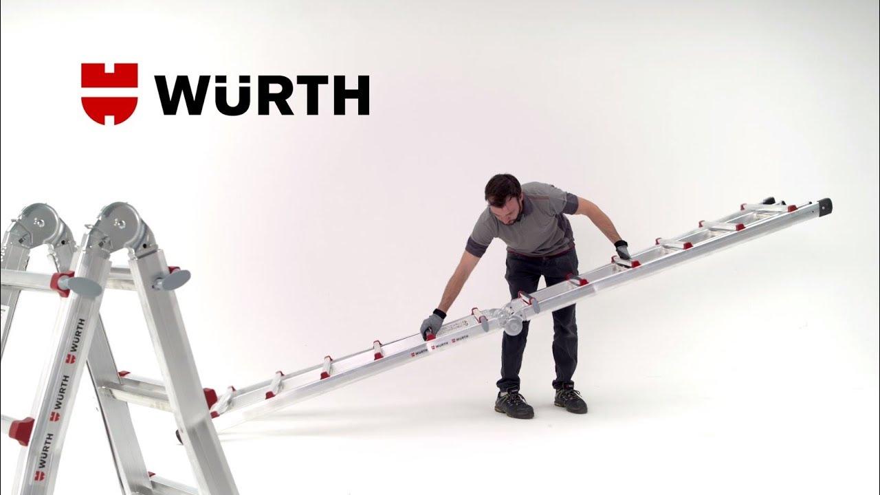 Escalier Modulaire Pas Cher echelles télescopiques alu modulables - würth