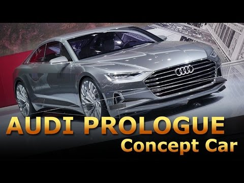 Audi Prologue Concept Car - Auto Show Barcelona 2015