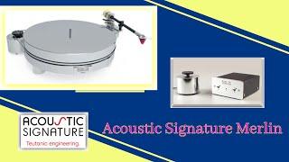 Acoustic Signature  - Merlin .