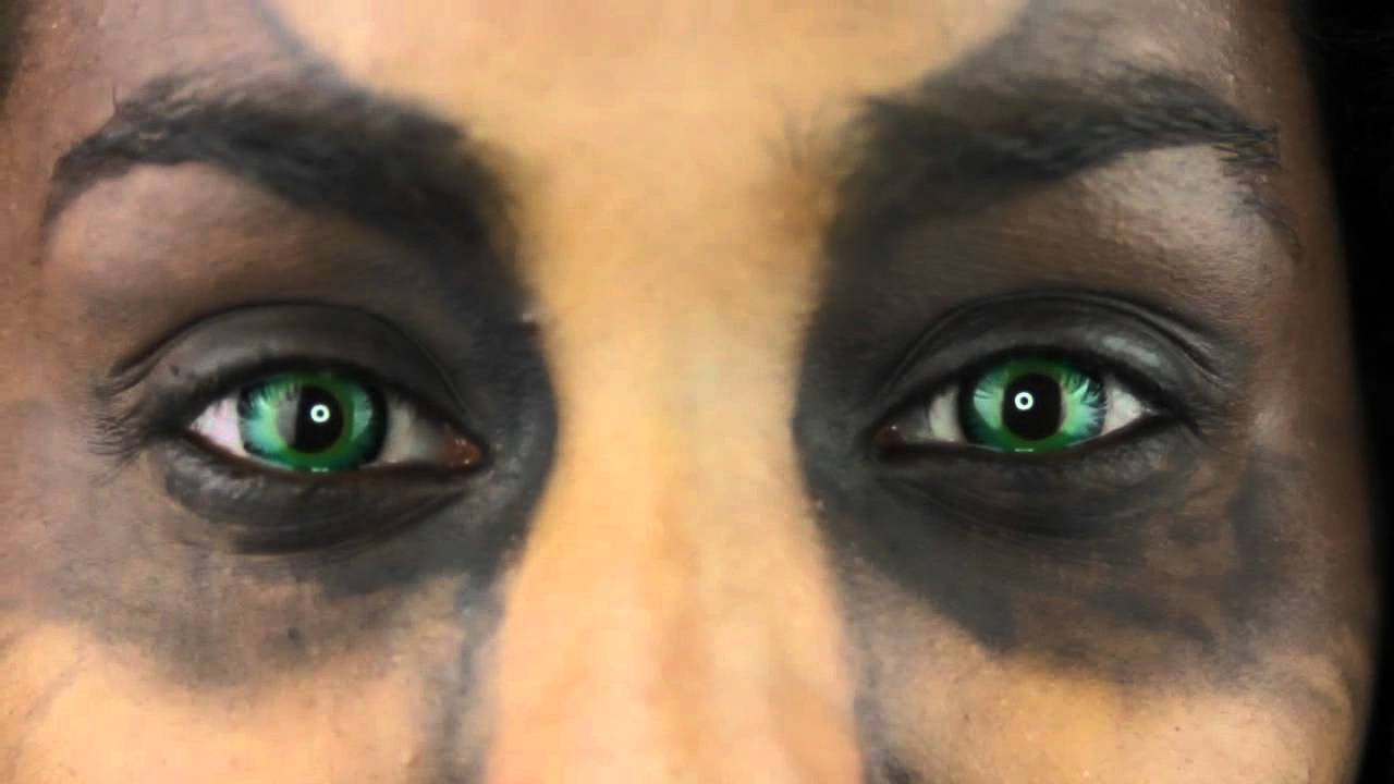 95cc275ad Green Werewolf Contact Lenses | Eyesbright.com - YouTube