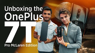 Carlos Sainz and Lando Norris Unbox the OnePlus 7T Pro McLaren Edition