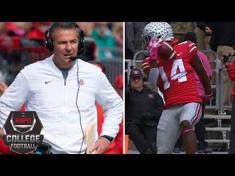 Urban Meyer & Ohio State escape Minnesota upset, K.J. Hill's OBJ catch | College Football Highlights