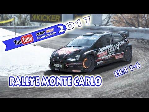 YouTube Dirt Rally Championship 2017 - Rallye Monte Carlo EK:t 1-6