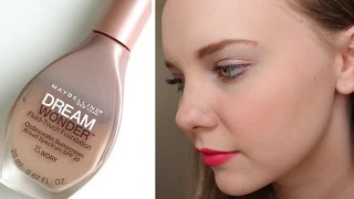 Review | Maybelline Dream Wonder Fluid-Touch Foundation (Ivory)
