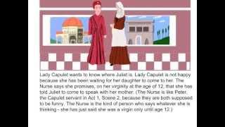 Romeo and Juliet - Act 1, Scene 3 Summary