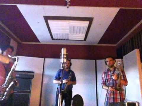 Men of North Country - Teenage Frost - Horn Section Recording