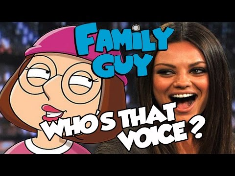 FAMILY GUY Who's That Voice? .. Voice Actors!