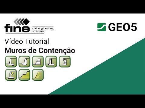 Tutoriais GEO5: Introdução aos Programas de Muros de Contençãoиз YouTube · Длительность: 4 мин2 с