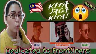 Kita Jaga Kita - Altimet, Cuurley & Malik Abdullah Official Music Video/PINAY 🇵🇭 IN MALAYSIA🇲🇾REACTS