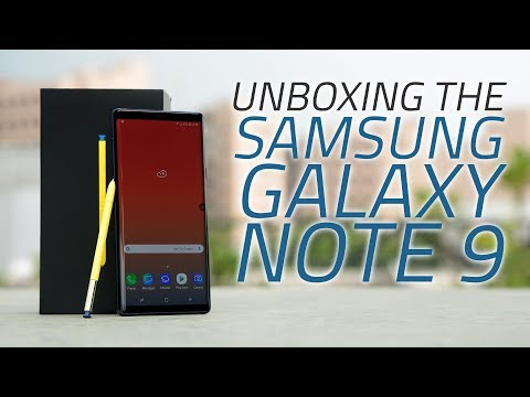 Samsung Galaxy Note 9 Unboxing | Along With Price, Launch Offers, and More
