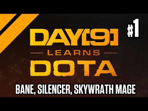 Day[9] Offlanes w/ Purge - Bane, Silencer, Skywrath Mage P1