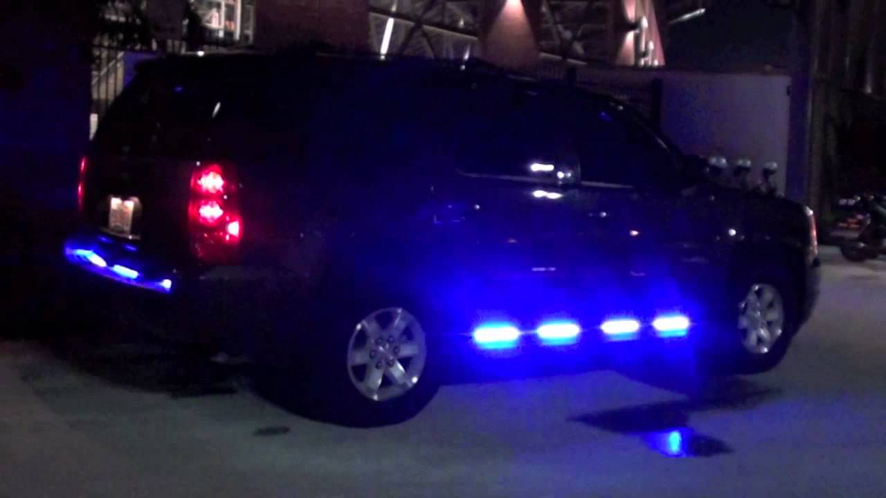 Hg2 Emergency Lighting Gmc Yukon Ucf Police Dept Youtube