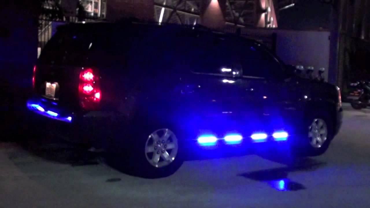 HG2 Emergency Lighting  GMC Yukon  UCF Police Dept  YouTube