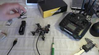 Eachine  Bat  QX105 unboxing configuration binding and first demo flight (Courtesy Banggood)