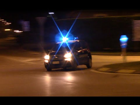 [RARE] Fiat Panda Carabinieri in emergenza - Carabinieri responding.