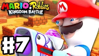 Mario + Rabbids Kingdom Battle - Gameplay Walkthrough Part 7 - Rabbid Mario!