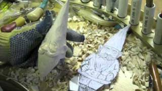 Wood Carving A Gnome Part 3