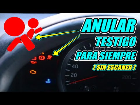 🧢Quitar Luz Airbag🚗activada. Remove Light Airbag On