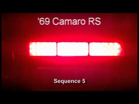 1969 Camaro Rs Led Sequential Tail Lights By Easy
