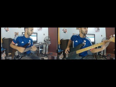 Steel (Captain tsubasa) guitar/bass playthough+guide