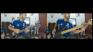 Steel (Captain tsubasa) guitar/bass cover+guitar guide