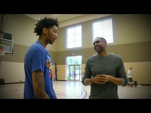 2016 NBA Draft - Grant Hill sits with No.2 pick Brandon Ingram