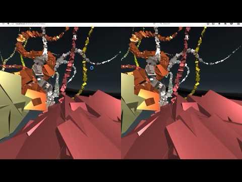 Sound Forest in WebVR