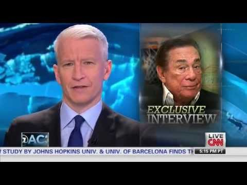 Anderson Cooper Interviews Donald Sterling For AC360 On CNN