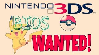 3DS Emulator BIOS File Wanted/Needed!