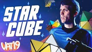 Star Cube is an addictive, folding fidget toy