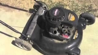 Yard Machines Mower Runs Again