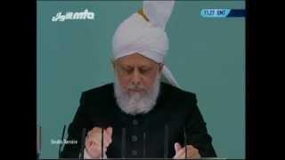 Sindhi Friday Sermon 15th April 2011 - Islam Ahmadiyya
