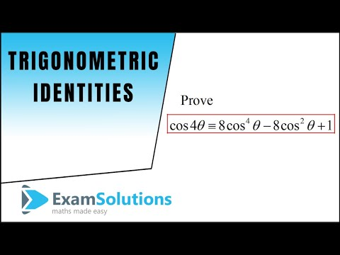 Trigonometry Identities - Double Angles (3) : ExamSolutions