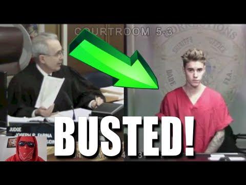 JUSTIN BIEBER COURT VIDEO & JAIL *NEW* 2014 HD
