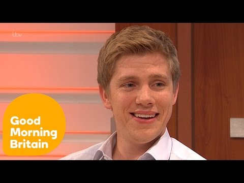 Ryan Hawley On The Support For Emmerdale's Robert and Aaron   Good Morning Britain