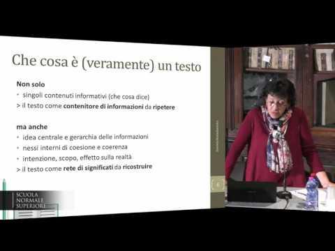L'ITALIANO NEI LIBRI DI TESTO - Accademia dei Lincei e SNS - 2-03-2017