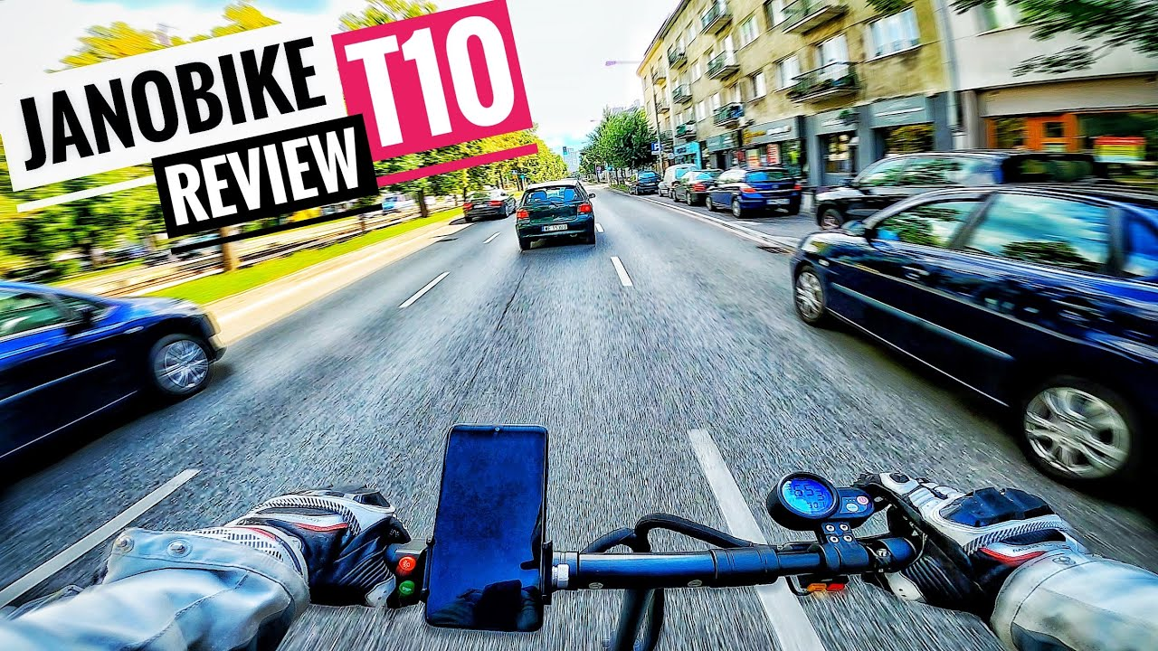 60 km/h Janobike T10 eScooter Review - Acceleration, Top Speed, Hillclimb, Features and Failures
