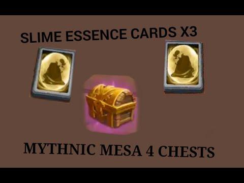 CC: Mythnic Mesa 4 Chest, Slime Essence Cards