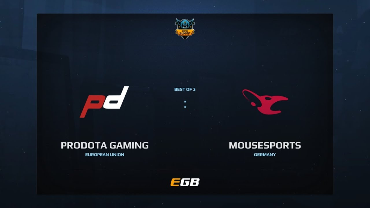 PD Gaming vs Mousesports, Game 1, Dota Summit 7, EU Qualifier