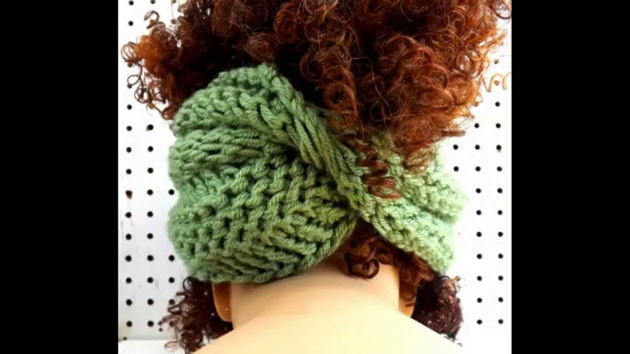 BOA Unique Knit Infinity Scarf and Pattern - Wear as a Head Wrap and ...