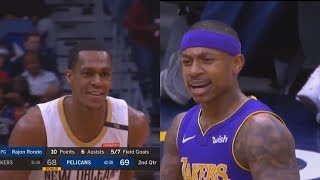 Isaiah Thomas Gets Clowned By Rajon Rondo After Getting Technical Foul!