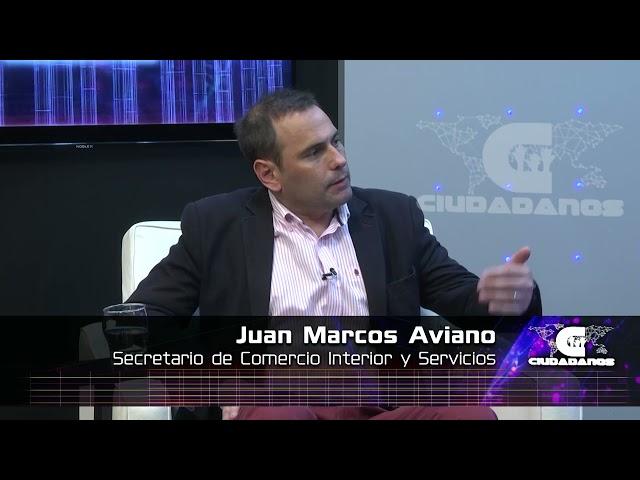 Juan Marcos Aviano - Sec . de Comercio Interior sobre el control de precios - Ciudadanos