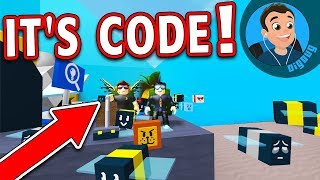 CodePrime8 and I are playing Roblox Bee Swarm Simulator!!