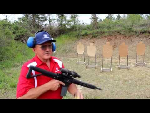 AR-15 5 shots in 1 second with fastest shooter ever, Jerry Miculek (Shoot Fast!)