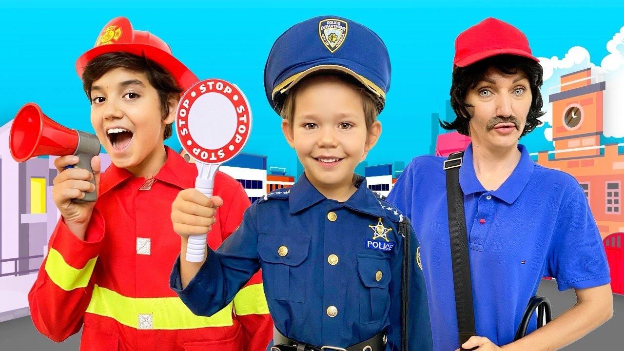 Download The Police Man | Kids Songs and Nursery Rhymes