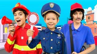 The Police Man | Kids Songs and Nursery Rhymes