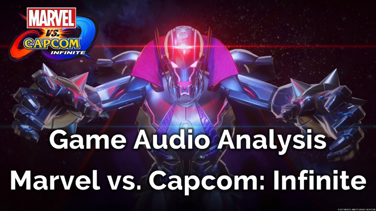 Sound designer Mike Thal analyzes Marvel vs  Capcom: Infinite's game