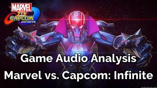 Game Audio Analysis - Episode 7: Marvel vs. Capcom: Infinite